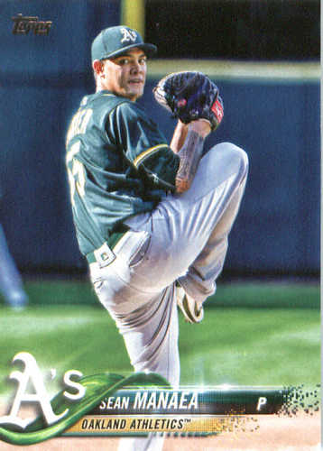 Photo of 2018 Topps #342 Sean Manaea