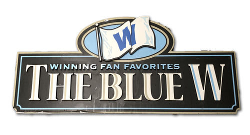 Photo of Wrigley Field Collection -- Concourse Sign - 'The Blue W'