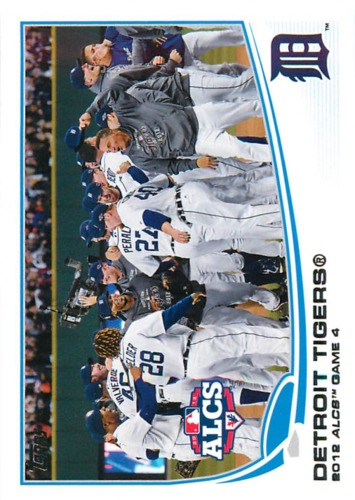 Photo of 2013 Topps #179 Detroit Tigers