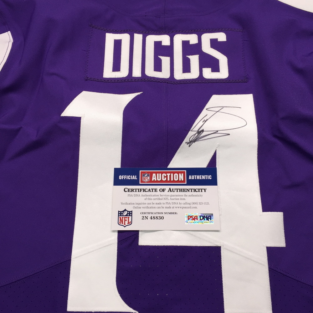 separation shoes dbdf4 a0b46 NFL Auction | STS - Vikings Stefon Diggs Signed and Game ...