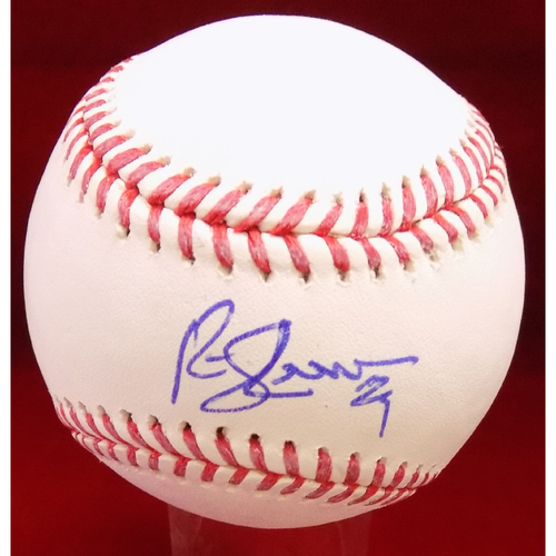 Photo of Rusty Greer Autographed Baseball