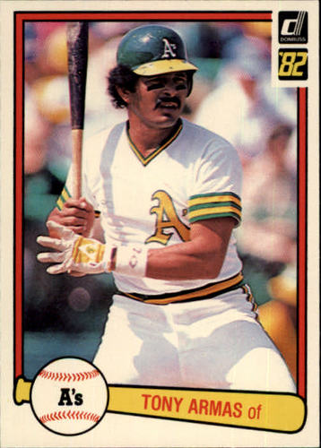 Photo of 1982 Donruss #365 Tony Armas