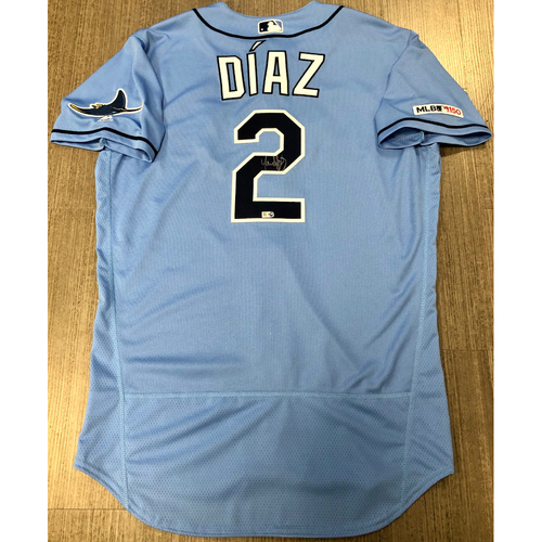 Photo of Autographed Jersey: Yandy Diaz