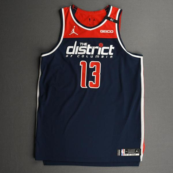 Image of Thomas Bryant - Washington Wizards - Kia NBA Tip-Off 2020 - Game-Worn Statement Jersey