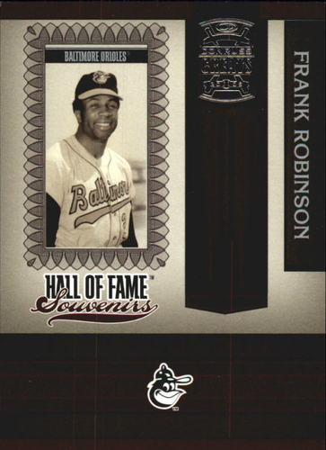 Photo of 2005 Donruss Greats Hall of Fame Souvenirs #15 Frank Robinson