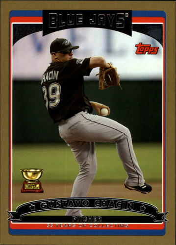 Photo of 2006 Topps Gold #540 Gustavo Chacin