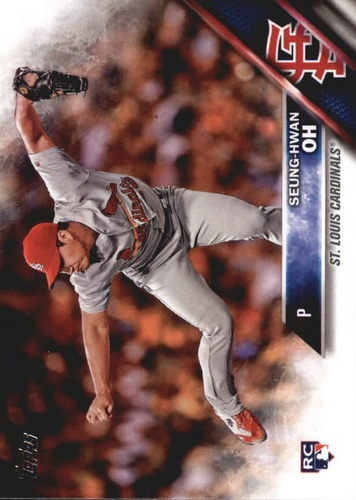 Photo of 2016 Topps Update #US258A Seung-Hwan Oh RC