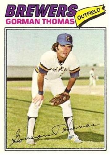 Photo of 1977 Topps #439 Gorman Thomas