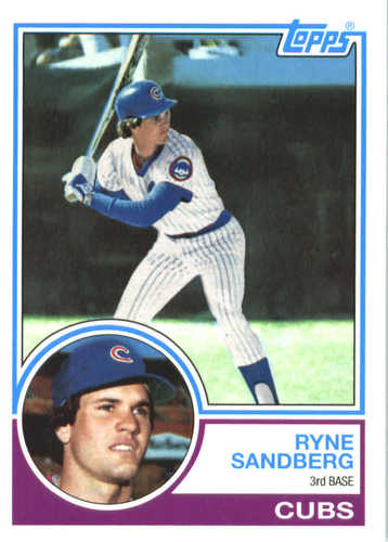 Photo of 2017 Topps Update All Rookie Cup #ARC16 Ryne Sandberg -- REPRINT