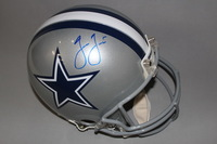 NFL - COWBOYS JASON GARRETT SIGNED COWBOYS PROLINE HELMET