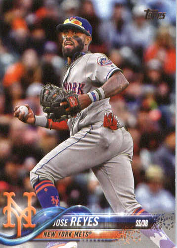 Photo of 2018 Topps #345 Jose Reyes