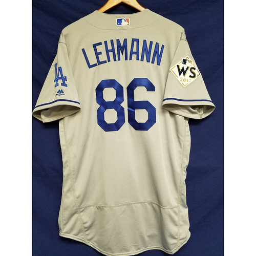 Photo of Danny Lehmann 2017 Road World Series Team-Issued Jersey
