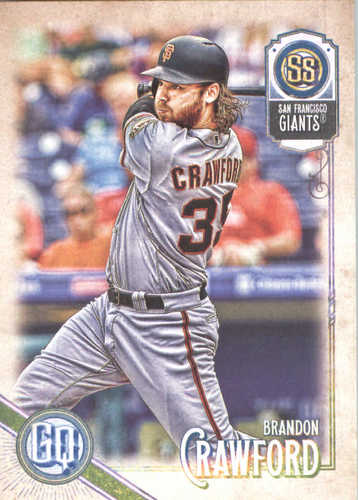 Photo of 2018 Topps Gypsy Queen #105 Brandon Crawford