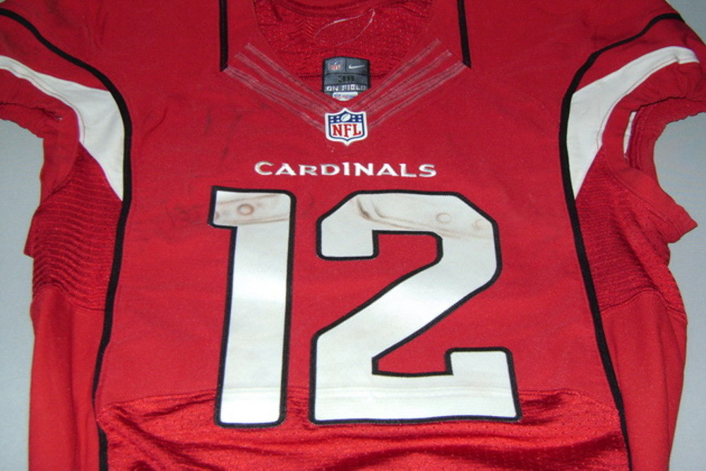 Crucial Catch - CARDINALS JOHN BROWN GAME WORN CARDINALS JERSEY (OCTOBER 17, 2016)