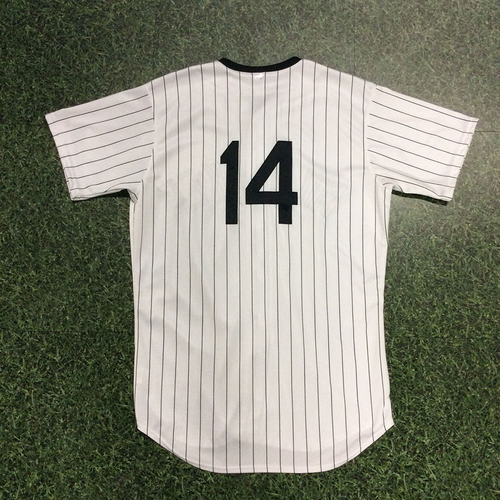 Photo of Hernan Perez 2018 Milwaukee Bears Game-Used Jersey