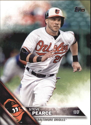 Photo of 2016 Topps Update #US51 Steve Pearce