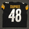 Crucial Catch - Steelers Bud Dupree game issued Steelers jersey (2017) Size 46