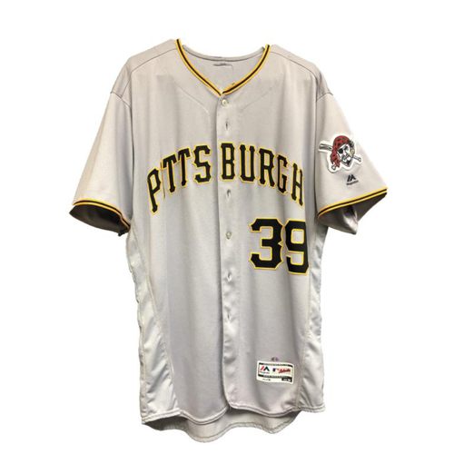 Photo of 2017 Chad Kuhl Game-Used Away Jersey