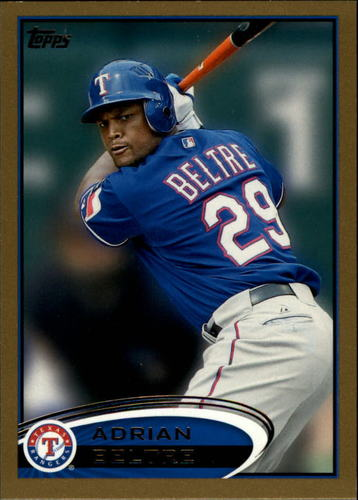 Photo of 2012 Topps Gold #310 Adrian Beltre