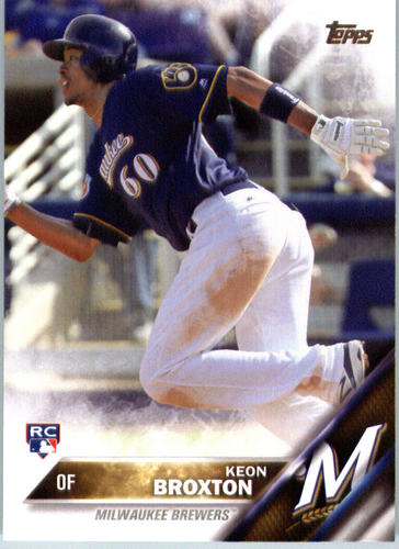 Photo of 2016 Topps #364 Keon Broxton RC