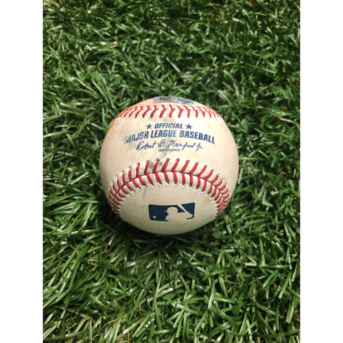 Game Used Baseball: Yolmer Sanchez RBI triple off Andrew Kittredge - July 21, 2019 v CWS
