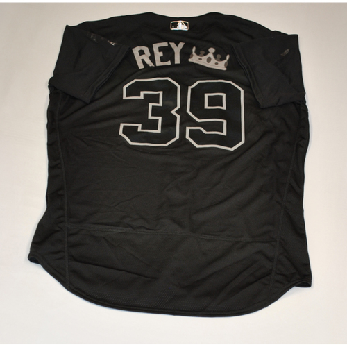 "Photo of Renato ""REY (CROWN EMOJI)"" Nunez Baltimore Orioles Game-Used 2019 Players' Weekend Jersey"