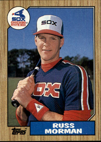 Photo of 1987 Topps #233 Russ Morman