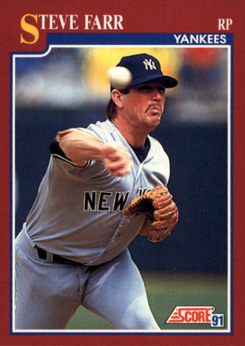Photo of 1991 Score Rookie/Traded #21T Steve Farr