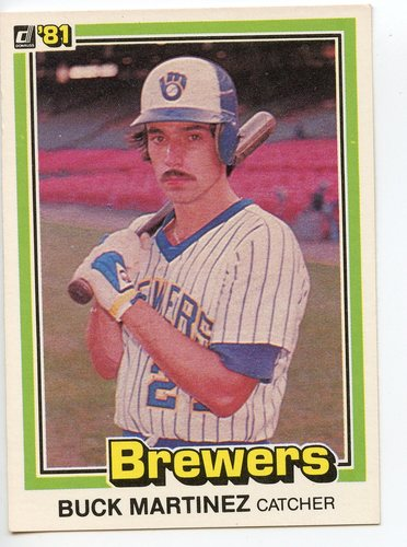 Photo of 1981 Donruss #444B Buck Martinez/P2 COR