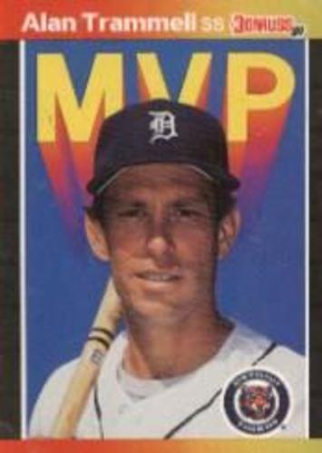 Photo of 1989 Donruss Bonus MVP's #BC17 Alan Trammell