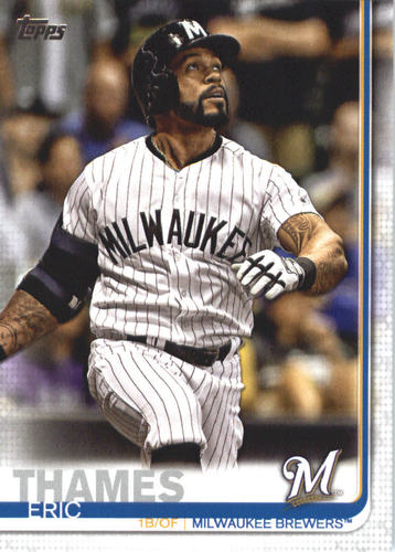 Photo of 2019 Topps #695 Eric Thames