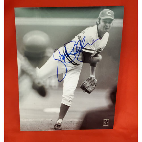 Photo of Jack Billingham Autographed Photo (on mound with batter shown)