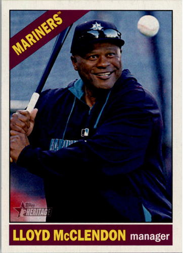Photo of 2015 Topps Heritage #147 Lloyd McClendon MG