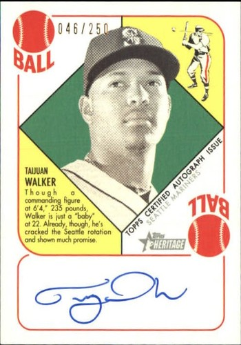 Photo of 2015 Topps Heritage '51 Collection Autographs #H51ATW Taijuan Walker/250