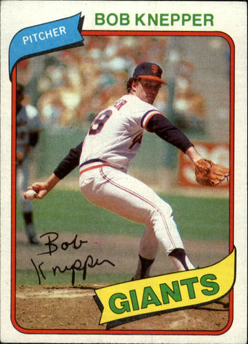 Photo of 1980 Topps #111 Bob Knepper