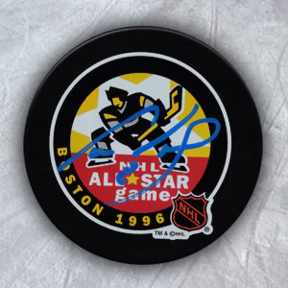Cam Neely Boston Bruins Autographed Boston Gardens 1996 All Star Game Puck
