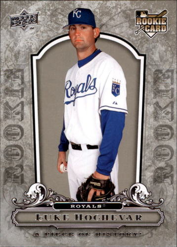 Photo of 2008 UD A Piece of History #122 Luke Hochevar RC
