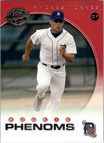 Photo of 2001 Donruss Class of 2001 #253 Andres Torres PH/525 RC