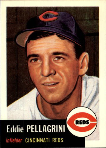 Photo of 1991 Topps Archives 1953 #28 Eddie Pellagrini