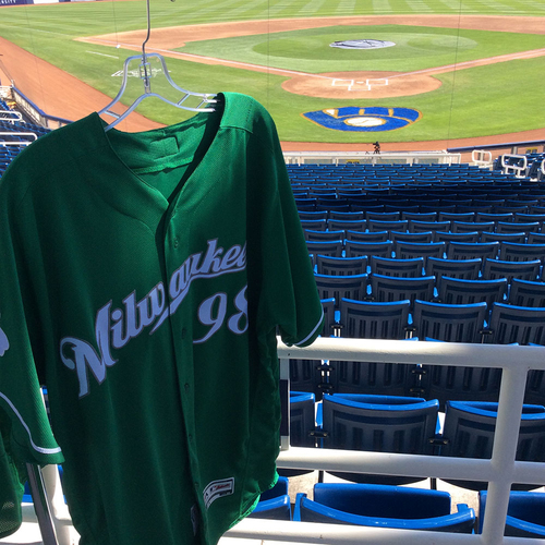 Photo of Quintin Torres-Costa 2018 Team-Issued St. Patrick's Day Jersey