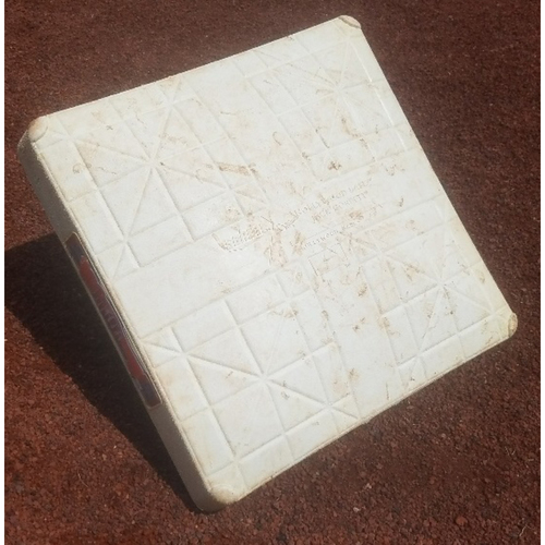 Photo of 2018 Game-Used Base: Scott Kingery First Career Grand Slam