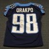 STS - Titans Brian Orakpo game worn Titans jersey (November 12, 2017) Size 42