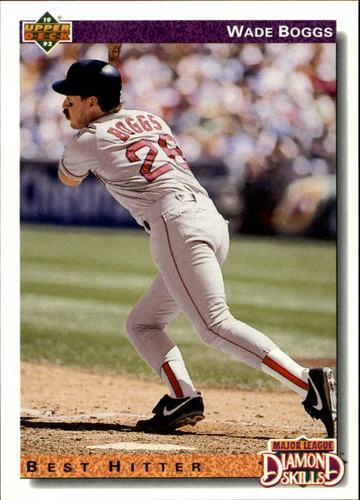 Photo of 1992 Upper Deck #646 Wade Boggs DS