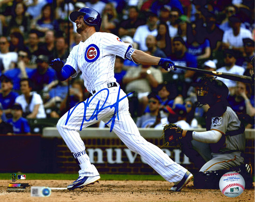 Photo of Kris Bryant Autographed Photo