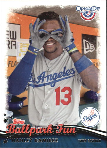 Photo of 2013 Topps Opening Day Ballpark Fun #BF24 Hanley Ramirez
