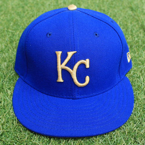 Photo of Game-Used Cap: Eric Skoglund (Size 7 1/8 - 9/29/17 - ARI @ KC)