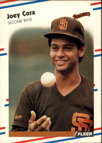Photo of 1988 Fleer #580 Joey Cora RC