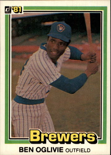 Photo of 1981 Donruss #446 Ben Oglivie