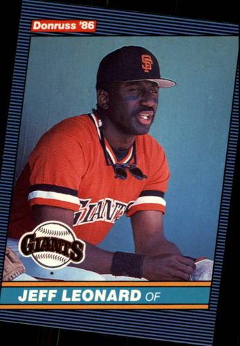 Photo of 1986 Donruss #79 Jeff Leonard