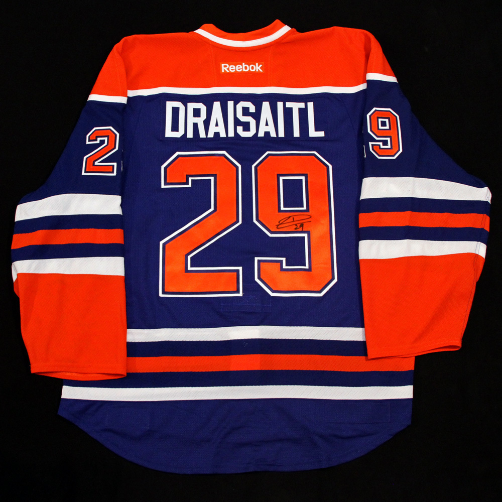 huge discount 6873f b1637 Leon Draisaitl #29 - Autographed 2014-15 Rookie Season ...